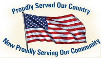 Proudly Served Our Country Now Proudly Serving Our Community